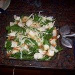 Ensalada sencilla de espinaca