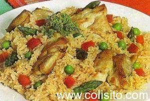 Paella-de-pollo