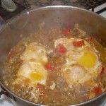 Lentejas con huevo