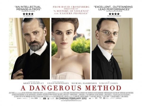 Crítica película: Un método peligroso – A dangerous method ... A Dangerous Method Poster