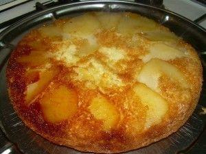 7 torta invertida de peras