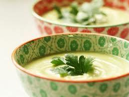 sopa de palta o guacamole