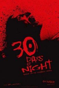 Poster 30 días de noche