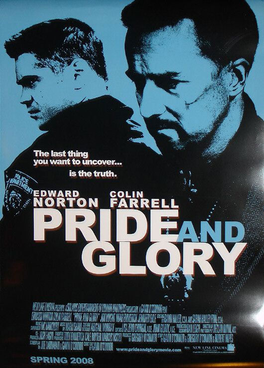 Poster pelicula pride and glory